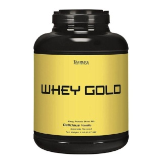 Ultimate Nutrition Whey Gold,  5 lb  Vanilla