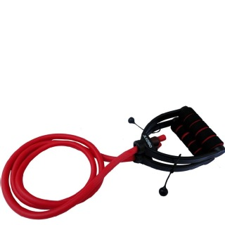 KOBO Heavy Resistance Bands Tube (AC-47),  Red  Free Size