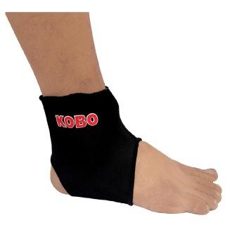 KOBO Neoprene Ankle Support (3640),  Black  Small