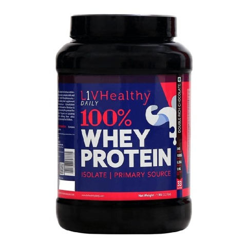 Liv Healthy 100% Whey Protein,  2.2 lb  Double Rich Chocolate