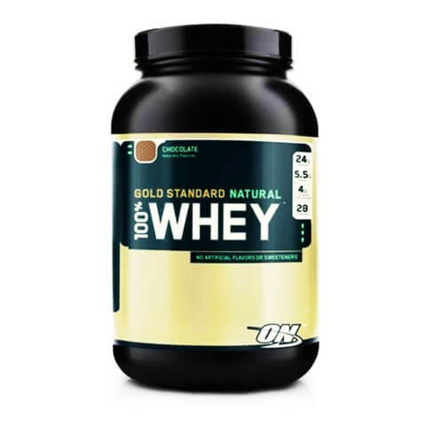 ON Gold Standard Natural 100% Whey,  2 lb  Chocolate