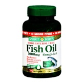Nature's Bounty Fish Oil (1000 mg),  110 softgels