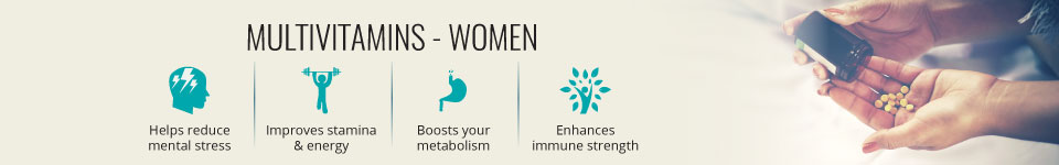 Multivitamins Women