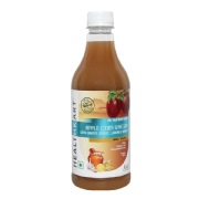 HealthKart Apple Cider Vinegar with Mother,  0.5 L  Ginger, Garlic, Lemon & Honey