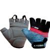 KOBO Gym Gloves (WTG-19),  Grey & Black  Medium
