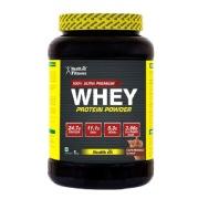 Healthvit 100% Ultra Premium Whey Protein,  2.2 lb  Cafe Mocha