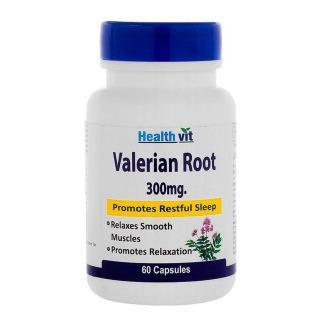 Healthvit Valerian Root Extract (300 mg),  60 capsules