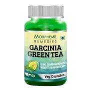 Morpheme Remedies Garcinia-Green Tea (500 mg),  60 veggie capsule(s)  Unflavoured