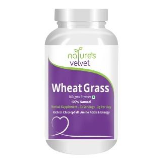Natures Velvet Wheatgrass Powder,  0.100 kg