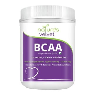 Natures Velvet BCAA Powder,  0.66 lb  Unflavoured