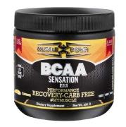 Muscle Powr BCAA Sensation 2:1:1,  0.66 lb  Lemon