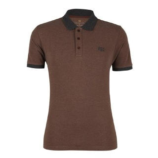 Rocclo T Shirt-5080,  Chocolate Brown  Medium