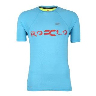 Rocclo T Shirt-5060,  Sky Blue  Large