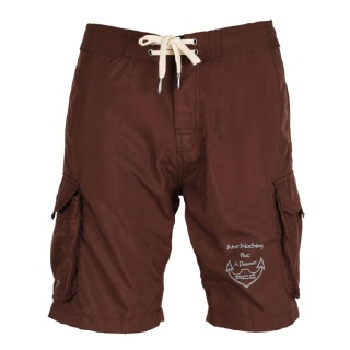 Rocclo Shorts-5065,  Chocolate Brown  Large