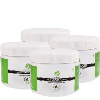 Dr. Sudha's Wild Turmeric Powder,  25 g  All Skin Type (Pack of 4)