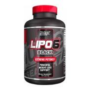 Nutrex Lipo 6 Black,  120 capsules  Unflavoured