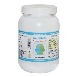 Herbal Hills Smrutihills,  900 capsules