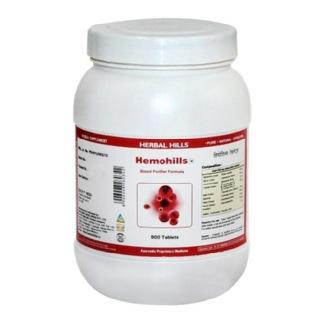 Herbal Hills Hemohills,  900 tablet(s)