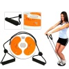 KOBO Magnetic Waist Twister with Hand Ropes (AC-12),  Orange