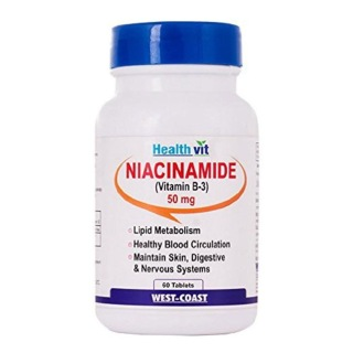 Healthvit Niacinamide (Vitamin B3) 50 mg,  Unflavoured  60 tablet(s)