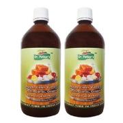 Dr. Patkar's Apple Cider Vinegar with Garlic, Ginger, Lemon and Honey (pack of 2),  500 ml  Garlic, Ginger, Lemon and Honey