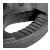 KOBO Premium Quality Rubber Coated Plate 31mm,  Black  15 kg