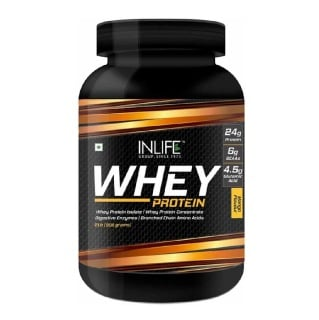 INLIFE Whey Protein Powder,  2 lb  Mango