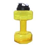 GHC Dumbell Shaker Bottle,  Yellow  2.2 L