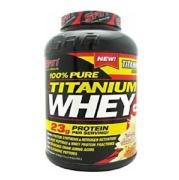 SAN 100% Pure Titanium Whey,  4.94 lb  Vanilla Butterscotch