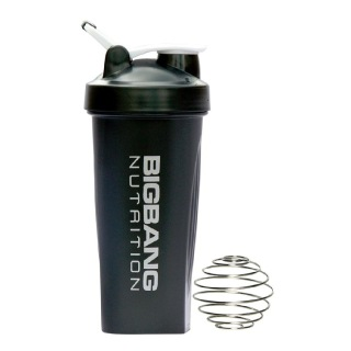BigBang Nutrition Ball Shaker with Handle,  Black  600 ml
