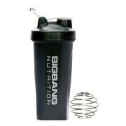 BigBang Nutrition Ball Shaker with Handle,  Black  600 ml