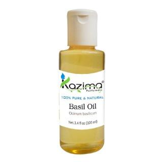 Kazima Basil Oil,  100 ml  100% Pure & Natural
