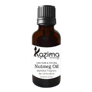 Kazima Nutmeg Oil,  30 ml  100% Pure & Natural