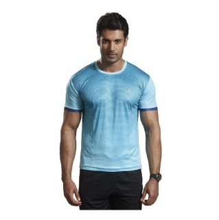 Omtex Active Wear T-Shirts - 1602,  Blue  XL