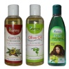 Kazima Olive Castor & Amla Oil (Each 100ml) Combo,  3 Piece(s)/Pack  All Type Hair & Skin
