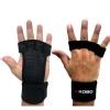KOBO Hand Grips Gym Gloves (WTG-18),  Black  XL