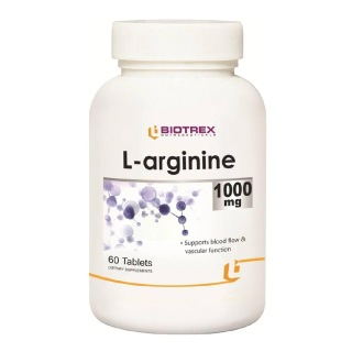 Biotrex L-Arginine (1000 mg),  60 tablet(s)