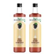 NourishVitals Red Wine Vinegar,  0.500 L  Unflavoured (Pack of 2)