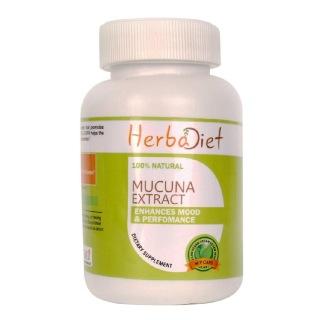 Herbadiet Mucuna Extract,  60 capsules