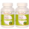 Herbadiet Maca Extract - Pack of 2,  60 capsules