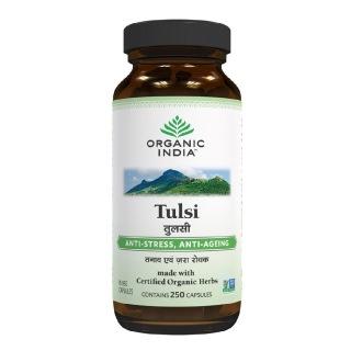Organic India Tulsi,  250 capsules