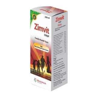 Maximaa Proyurveda Zimvit Syrup,  200 ml