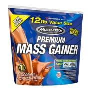 MuscleTech 100 % Premium Mass Gainer,  12 lb  Chocolate