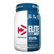 Dymatize Elite 100% Whey Protein,  2 lb  Cookies & Cream