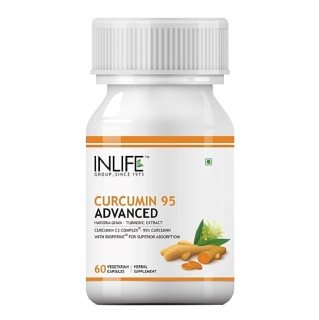 INLIFE Curcumin 95 Advanced,  60 veggie capsule(s)