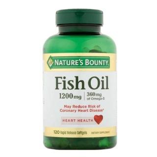 Nature's Bounty Fish Oil (1200 mg)