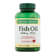 Nature's Bounty Fish Oil (1200 mg),  120 softgels