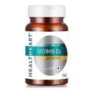 HealthKart Vitamin D3,  60 capsules