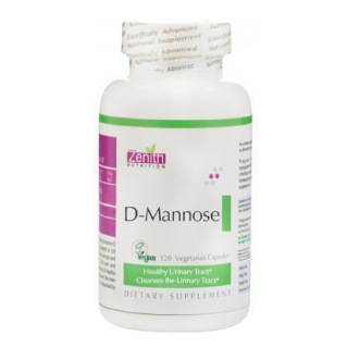 Zenith Nutrition D-Mannose,  120 capsules