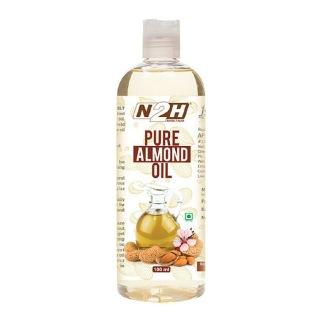 N2H Pure Almond Oil,  50 ml